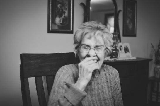 Mamaw truly has the best giggle.