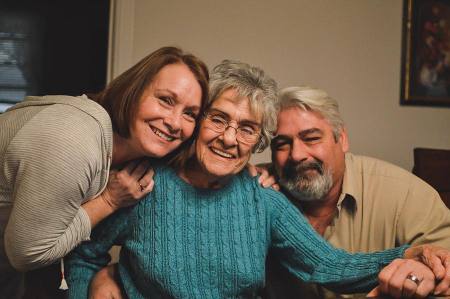 Aunt Beverly, Mamaw, Daddy